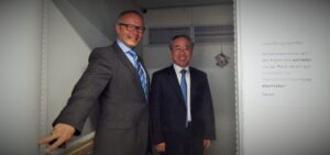 Generalkonsul China besucht Acura-Kliniken und Kältekammer im Rheumazentrum Bad Kreuznach